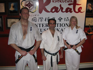 Kaicho with New York Branch Chief Shihan Jim